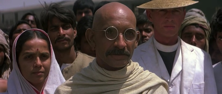 an analysis of the movie gandhi Gandhi (film) gandhi is a 1982 biographical film based on the life of mahatma gandhi, who led the nonviolent resistance movement against british colonial rule in india during the first half of the 20th century the film was directed by richard attenborough and stars ben kingsley as gandhi[1]they both wo.