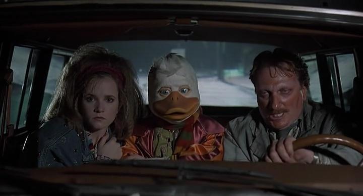 Кадры из фильма «Говард-утка» / 1986